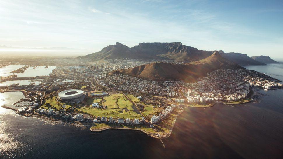 Vy över Kapstaden