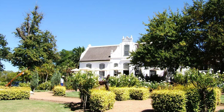 Maison vinicole i Sydafrika
