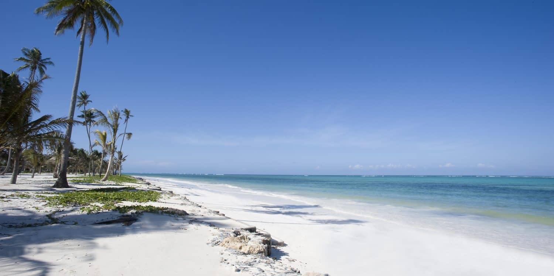 Stranden på Baraza